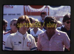 1980 Al Unser Sr & Jr - CART Miller High Life 150 - Vintage 35mm Race Slide