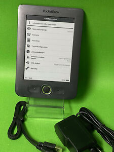 "Pocketbook Basic 613 - Grau - 2GB E-Book-Reader ebook ereader 6"""