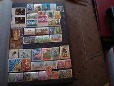 MONDE - 42 timbres tout etat (majorites n**) stamp