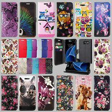 ** PLAIN COLOURS MOBILE PHONE BOOK WALLET CASE COVER FOR SAMSUNG GALAXY S6 MODEL