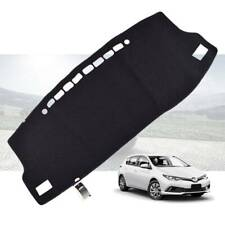 Black Dash Mat Dashmat Dashboard Cover For Toyota Corolla Hatch Zre182 2013-2018