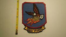 Extremely Rare 1950's Usaf 765th Radar Squadron Patch. Rare Original!