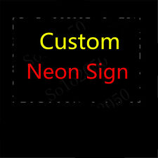 Custom NEON LIGHT SIGN Glass Tube Display BEER BAR CLUB Decor Lamp Bulbs Signs