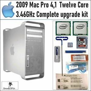 **MAXED* 12 CORE 3.46GHz 2x 3.46GHz XEON CPUs 2009 Apple Mac Pro 4,1 Upgrade Kit