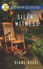 Love Inspired Suspense: Silent Witness by Diane Burke (2012, Paperback) Like New