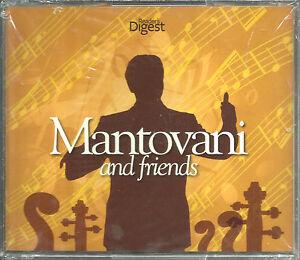 Mantovani: (Australia) [Reader's Digest] Mantovani and Friends [NEW]     4CD Box
