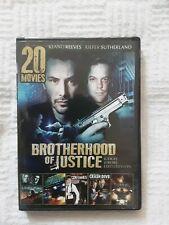 20 Movies: Brotherhood of Justice (DVD, 2014, 4-Disc Set)