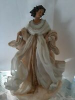 Gorgeous  Angel  Figurine,  Tree Topper, 17 Inch, Christmas,  Religious