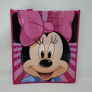 New Disney Minnie Mouse Reusable Shopping Bag Tote Book Party Gift Bag