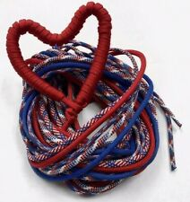 RED, WHITE, and BLUE - 5 PACK PARACORD BRACELET KIT
