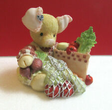 This Little Piggy This Little Piggy Went To Market Pig Enesco Tlp Figurine