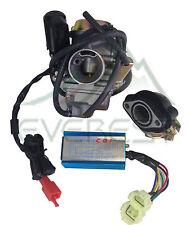 Eton Yukon 26mm 150cc GY6 Carburetor Manifold & Performance CDI ATV Quad