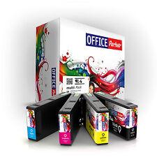 4x OFFICE-Partner Premium Tinten Patronen kompatibel T7015 Epson WP-4525 DNF
