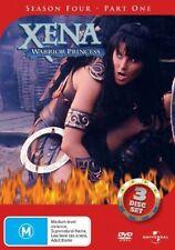 Xena - Warrior Princess : Series 4 : Part 1 (DVD, 2005, 3-Disc Set)