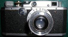 Canon SII Rangefinder Camera w/5cm f:3.5 Serenar,LTM, Mint-,Free Shipping in USA