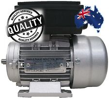 Single Phase Electric Motor 240V 0.37 kW 0.5 HP 1400rpm 4 Pole