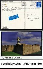 Great Britain - 1999 Southsea Castle Picture Postcard To Usa With Qeii Stamp