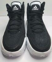 Adidas John Wall 2 Collegiate Black White/Footwear  Men's Size 14