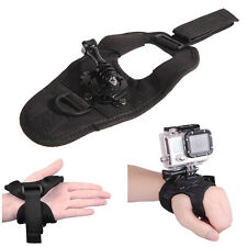360° Rotate Glove Hand Palm Back Arm Wrist Strap Mount for GoPro Hero 1 2 3 3+ 4