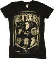 Rock Rebel Universal Monsters Terrifying Faces of Bela Lugosi Dracula T Shirt
