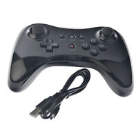 Wireless Classic Pro Controller Joystick Gamepad For Nintendo Wii U & USB Cable