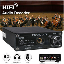 FX-AUDIO DAC-M6 HiFi Optical/Coaxial/USB Digital Audio Amplifier DAC Decoder