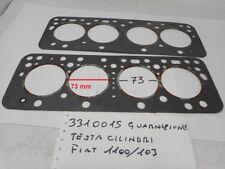 Guarnizione testa cilindri motore Fiat 1100/103  H 110d year 1963 & Fiat 1100