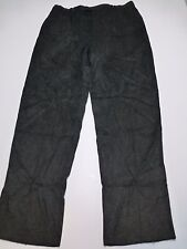 Norm Thompson Mens Size 40 Grey Pleated Dress Pants Great Condition