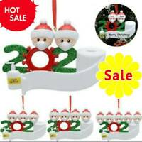 2020 Marry Christmas Hanging Ornaments Family Personalized Ornament Xmas Decors