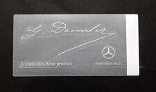 Mercedes Sticker Aufkleber  Mercedes Benz  Product  G Daimler transparent