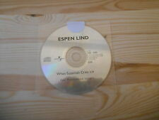 CD Pop Espen Lind - When Susannah Cries (1 Song) Promo UNIVERSAL -cd only-