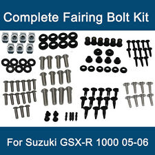 Complete Fairing Bolt Kit Body Bolts Stainless fit Suzuki GSXR 1000 2005 2006 L7
