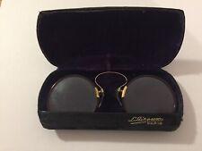 Ancienne Paire de lunette Binocle et son etui XIX eme
