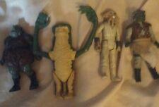 Vintage Kenner Guerra De Las Galaxias Figuras De Acción Trabajo Lote x4 Jabba El Hut guardias de palacio