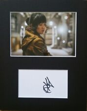 Kelly Marie Tran , Rose Tico 'The Last Jedi', hand signed mounted autograph.