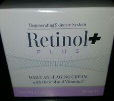 Retinol Plus DAILY Anti-aging Cream with Retinol & Vitamin C NEW & SEALED 1.7 Oz