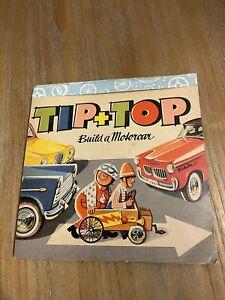 VTG TIP + TOP  Book~ POP UP ~1964 BUILD A MOTOR CAR V. KUBASTA  LONDON