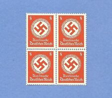 Mint stamp block / Nazi Swastika / PF08 / Third Reich / Nazi Germany / MNH block