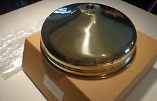 "12"" Polished Brass GOLD Finish Shower Head RAIN MAKER 3/4"" MADE IN ITALY 1/2"""