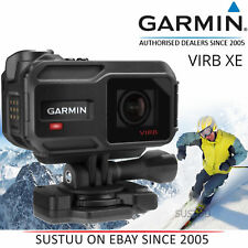 Garmin VIRB XE Action Camera│QHD 1440P│GPS│Outdoor Sports WP│WiFi│Bluetooth│ANT+