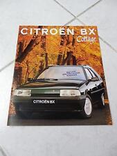 Citroen BX Cottage 1993 sales brochure prospekt catalogue