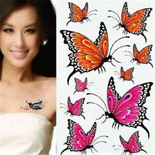 FD967 Removable Waterproof Temporary Tattoo Body Stickers ~Cute Butterfly~ 1pc A