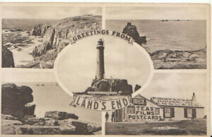 Cornwall Postcard - Views of Land's End - Ref TZ6146