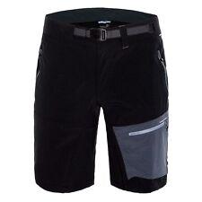 Pantalones y pantalones cortos de acampada de hombre negro talla L
