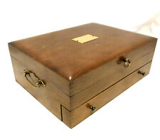 Wood Tarnish Resistant Silverware Flatware Storage Chest Box Wooden Drawer 95