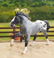 Schleich Pferd repainted/ Collecta Pferd repainted