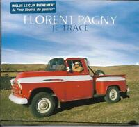 CD SINGLE DIGIPACK MULTIMEDIA 2 TITRES + CLIP FLORENT PAGNY JE TRACE NEUF SCELLE