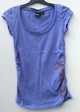 Bench Ladies Blue vest top blouse gym active wear Size S