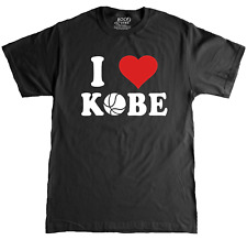 Rock Scythe - I Love (Heart) Kobe Basketball Tribute T-Shirt Gift T-Shirt Adult