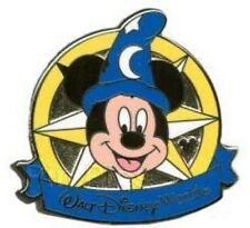 Disney Pin: WDW 2012 Hidden Mickey Compass Collection - Sorcerer Mickey